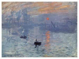 Claude Monet Impression Sunrise
