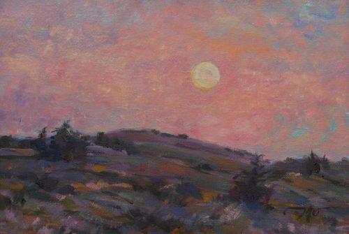 Morning Moonrise