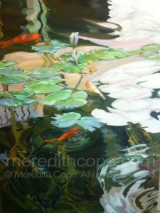 Pond Sunset 30x40