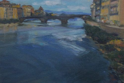 View from Ponte Vecchio, Florence